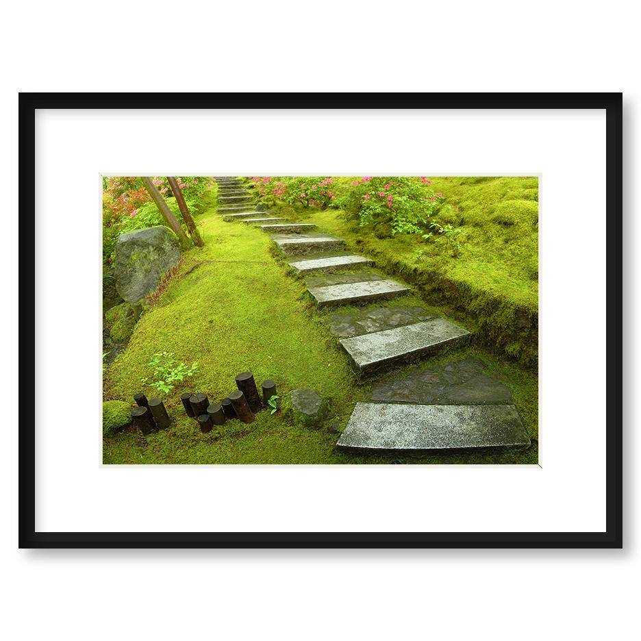Quot Zen Path Quot Framed Print