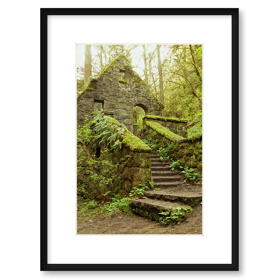 Quot The Stone House Quot Framed Print