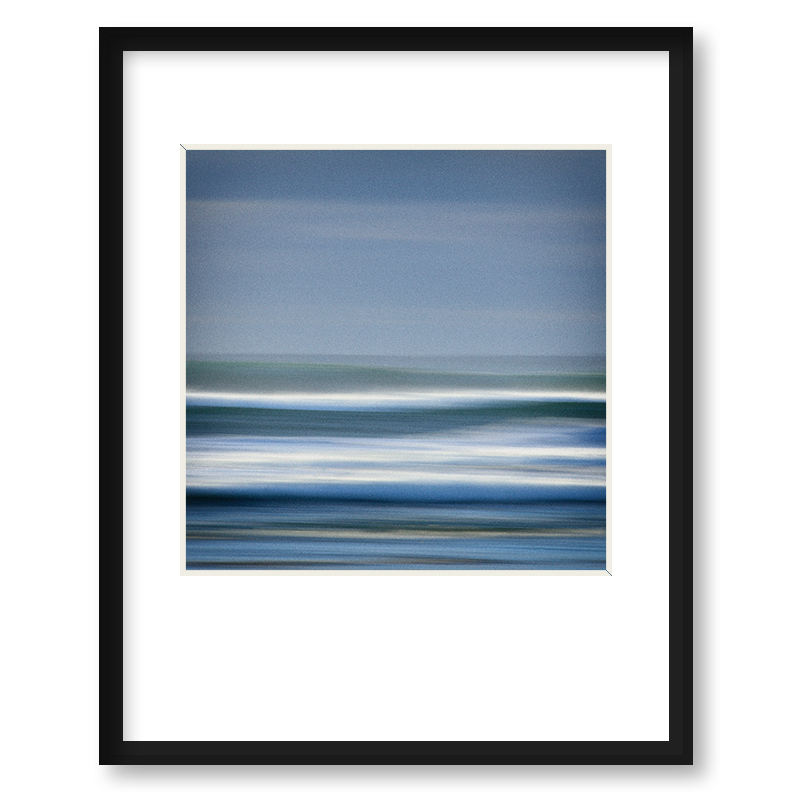 Quot Into The Surf Quot Framed Print